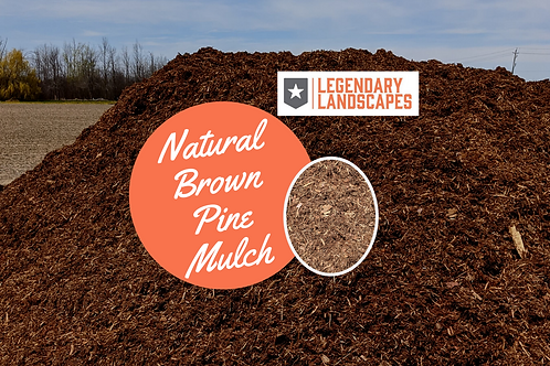 Natural Brown Pine Mulch