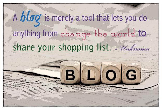A Funny Description of Blogging for Legendary Landscapes New Blog