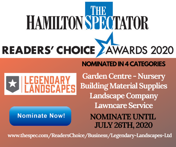 Nominated in 3 categories Garden Centre