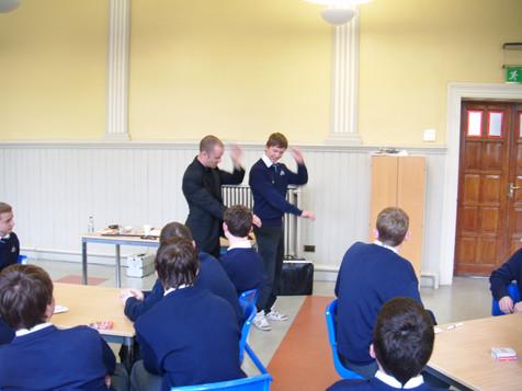 Teaching students magic tricks