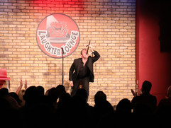 Jack Wise headling Comedian in The Laughter Lounge, Dublin.