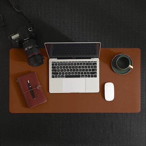 Computer Desk Pad for Laptop/Desktop/Mouse (High Quality PU Leather Mat)