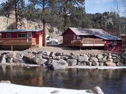 Property riverside view