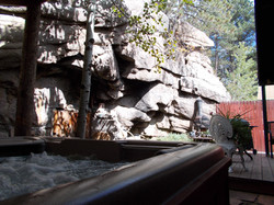 PRIVATE HOT TUB AT CANYON ESCAPE