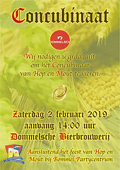 Poster Concubinaat 2019