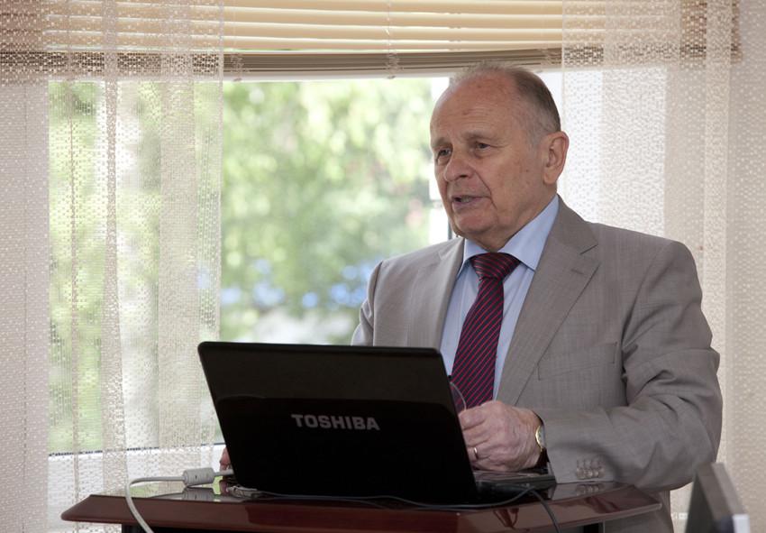 В. Н. Каминский, доктор технических наук, профессор, председатель совета директоров, АО «НПО «Турботехника»