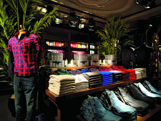 Music first (and loud), merchandise second: Abercrombie & Fitch