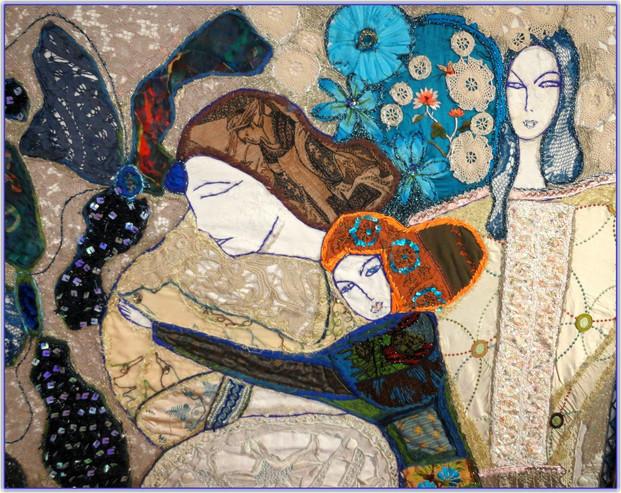 La Mère et l'Enfant aux Ombres bleues