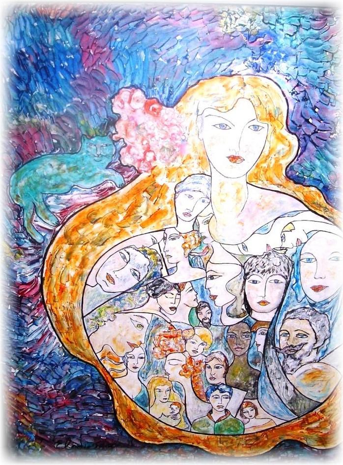 Gaïa et le Chat Bleu