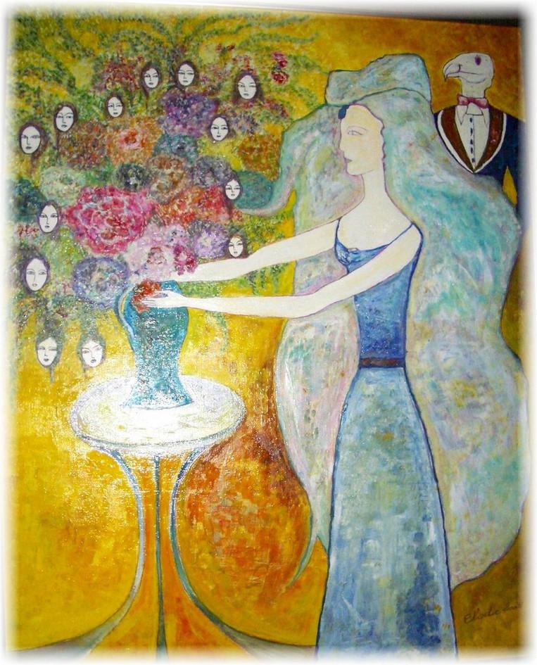 Gaïa et le Bouquet de Femmes