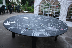 Interactive Chalk Table 2014
