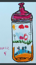Lucie, aged 5