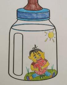 Syaqeef, aged 4