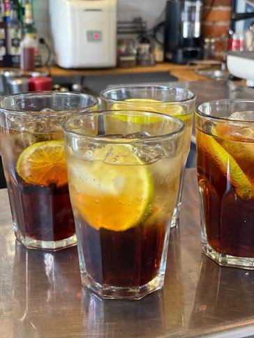 Bebidas refrescantes para esos días calurosos