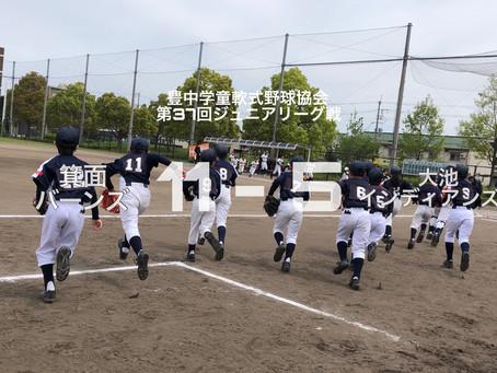 2019年度 豊中学童軟式野球協会第37回ジュニアリーグ戦(Cチーム)