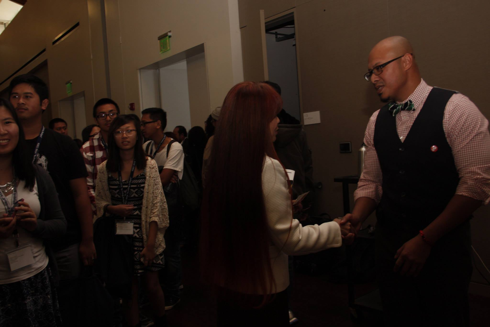 University of the Pacific Keynote - Signing and Pics.jpg
