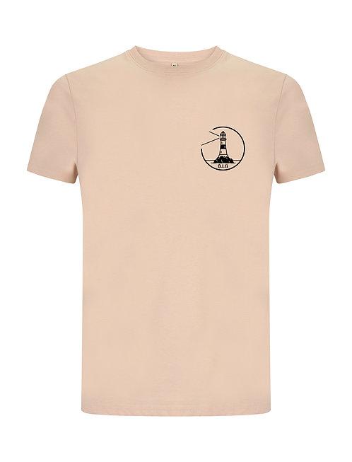 """T-shirt """"Lighthouse"""" Pink"""