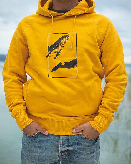 "Sweatshirt ""Whale"" Mango (Unisex)"
