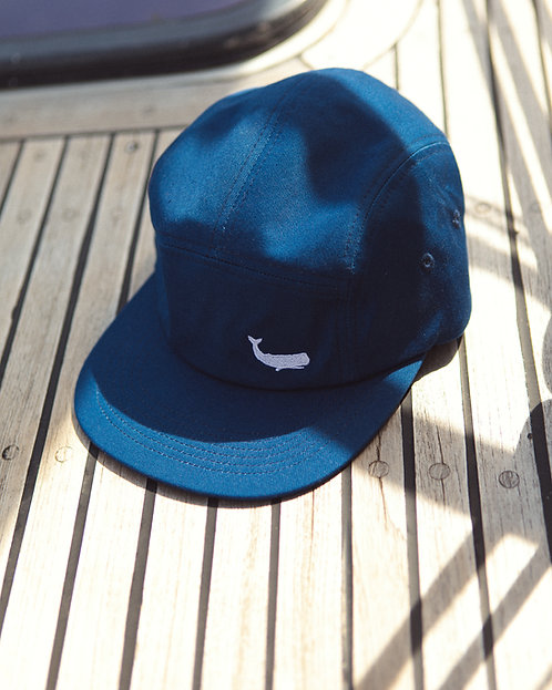 "Casquette 5 panel ""Ocean Blue"""