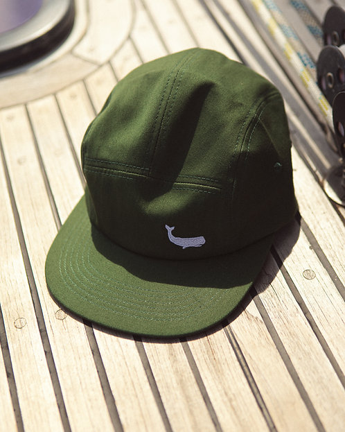 "Casquette 5 panel ""Green Forest"""