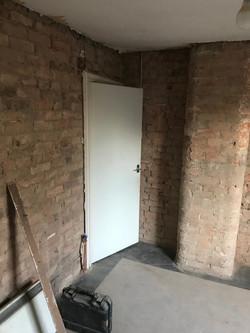 bricks cleaned