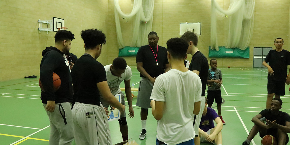 Boys Basketball 17 - 18 years old 6.00pm - 7.30pm (indoors)