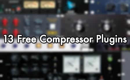 13 Free Compressor Plugins