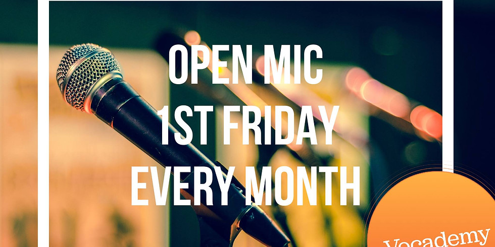 Over 15 Open Mic