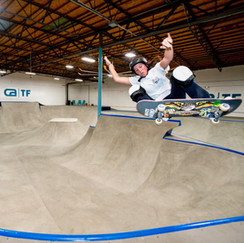 Frontside Ollie at CA TF