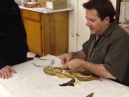 David Taylor at work