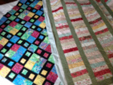 Hints for a great binding and Sandy Quilt donation project