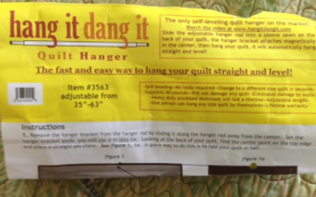 quilt hanger