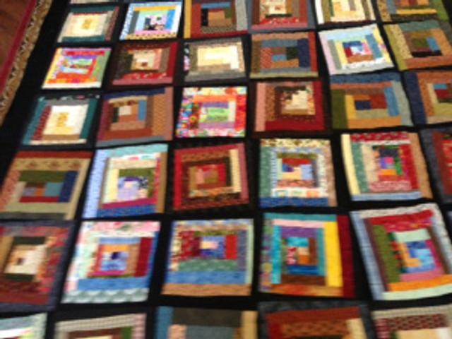 Sandy quilt close up