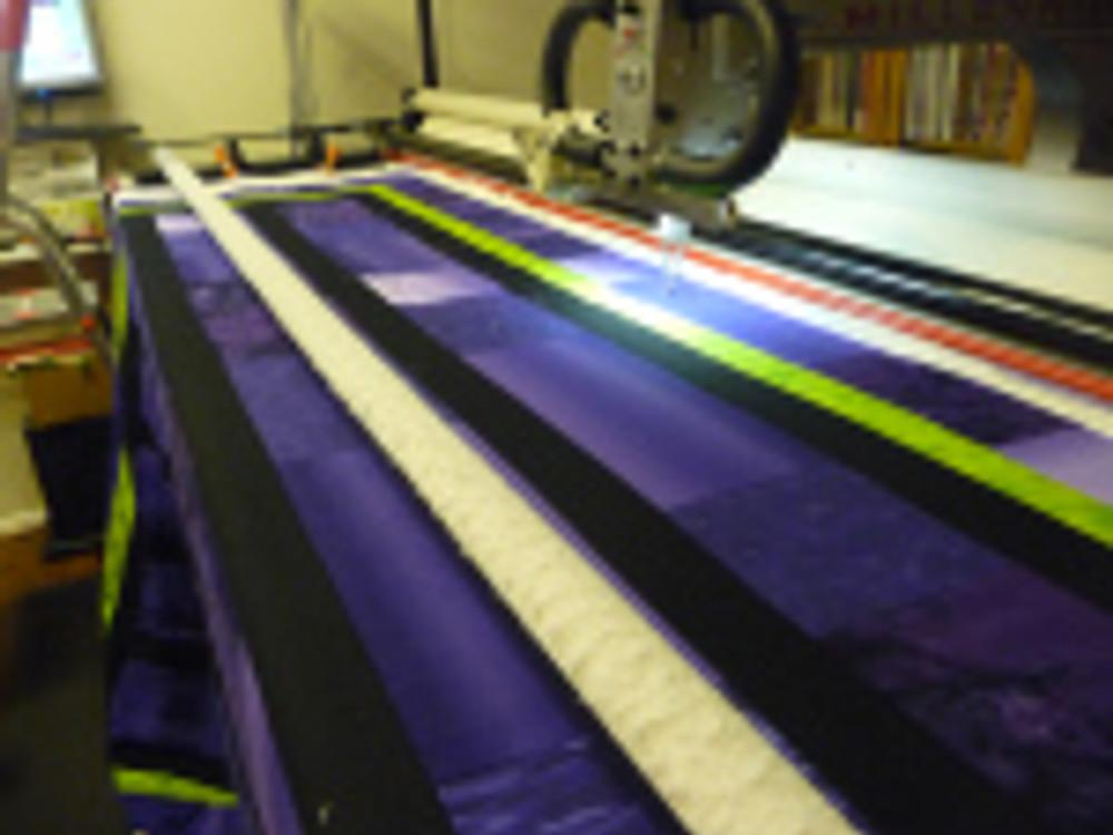 Isabelle's 8yr. Grandson's quilt