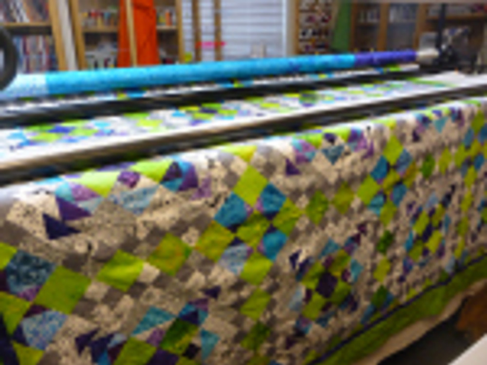 Easy Street ready to quilt