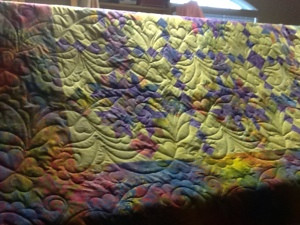 Color and quilting