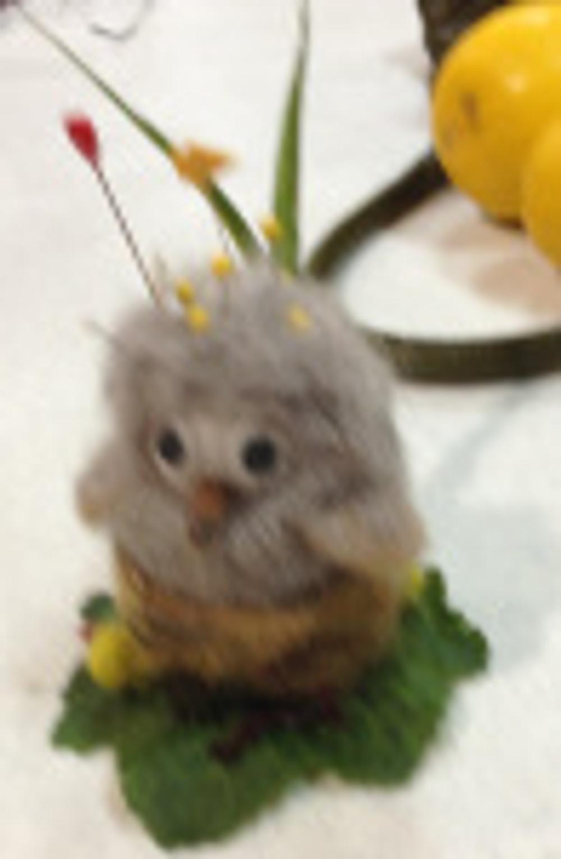Vals felted owl