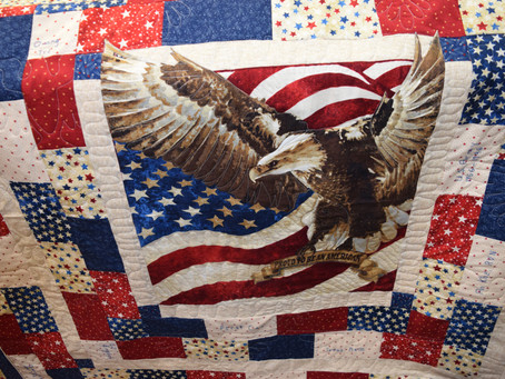 Love those Quilts of Valor Quilts