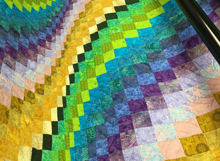 Color and Pattern Dance on These Quilts