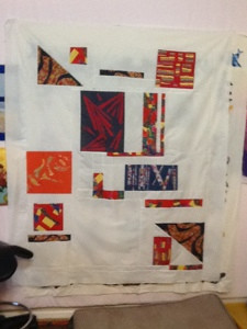 "Modern Quilt by ""old, gray haired quilter"""