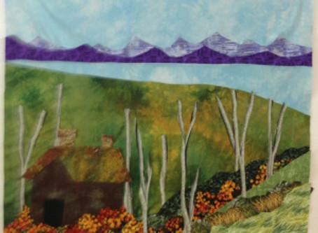 Landscape Quilt – what a blast!!!
