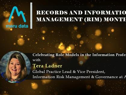 Records and Information Management (RIM) Month - Celebrating Tera Ladner
