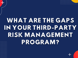 What are the gaps in your third-party risk management program?