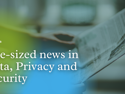 Bite-Sized News in Data, Privacy and Security