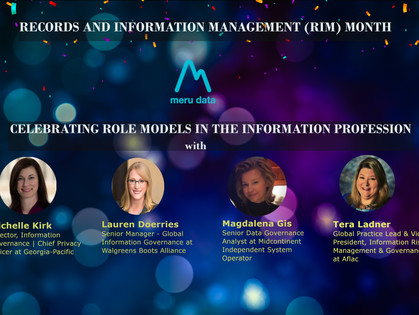 RIM Month with Meru Data: Celebrating Women in the Information Profession