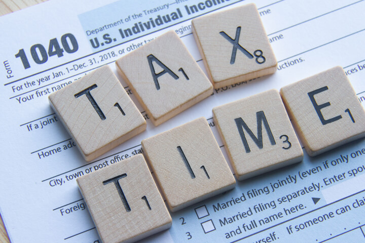 Preparing and organizing for taxes