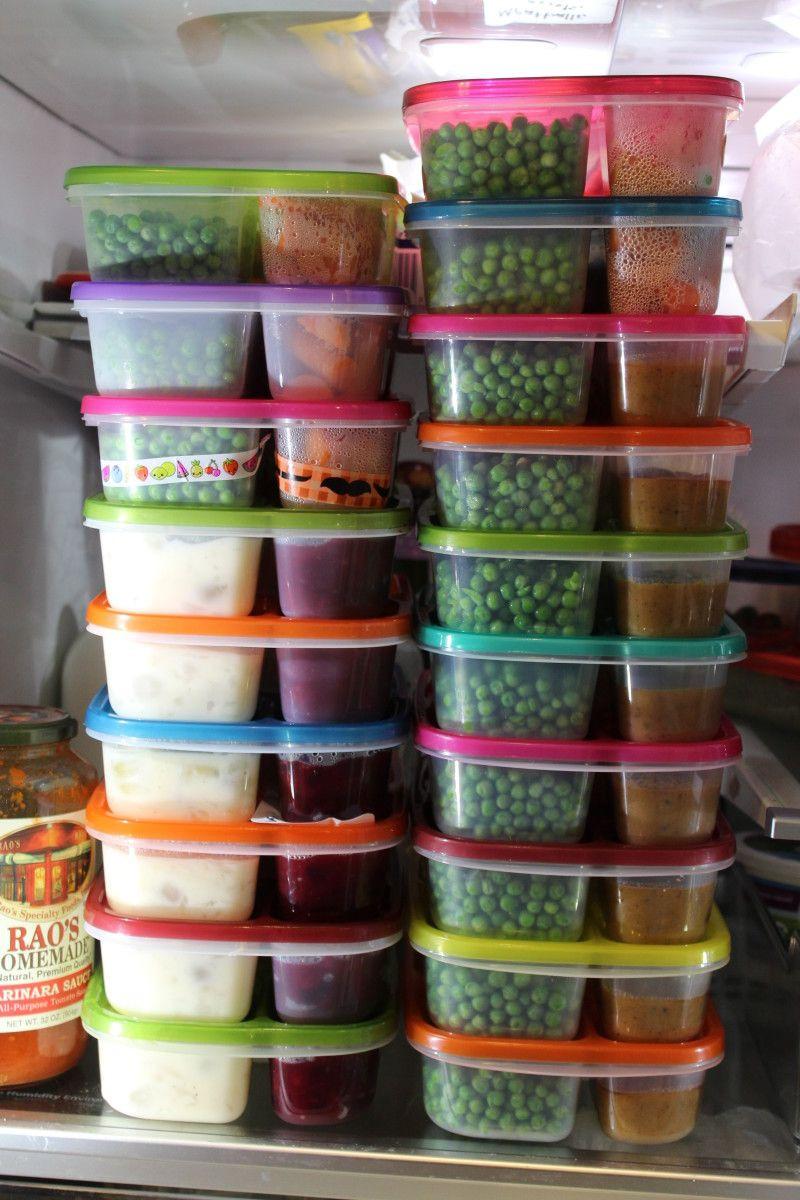 Food storage organizers