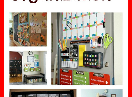Back-to-School Organization Countdown
