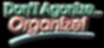Organize, Professional Organizing