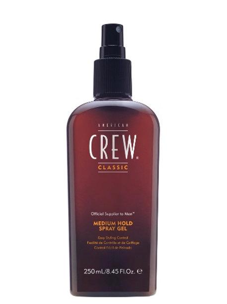 Crew Medium Hold Spray Gel